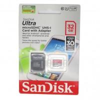 Sandisk 32 GB Ultra HD Micro SDHC Klasse 10 NIEUW